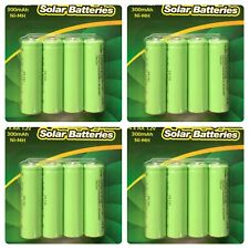 20 x AA Rechargeable Solar Power Batteries 1.2V 300mah NI-MH Garden Summer Light