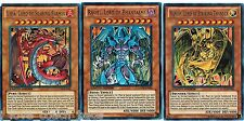 Uria Lord + Hamon + Raviel LC02 Egyptian God Cards Legendary Collection 2 yugioh