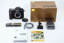C013-886***Mint++***Nikon D500 in Box Sutter count 5037 shot!! from Japan