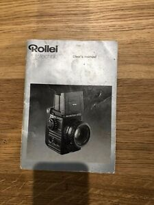 Rolleiflex 6002 Instruction/Users Manual - in excellent condition