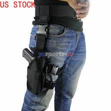 Universal Drop Leg Holster Right Hand Tactical Thigh Handgun Holster Adjustable