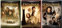 THE LORD OF THE RINGS TRILOGY 3 DVD SET WIDESCREEN 6 DISC TOTAL NEW FREE SHIP