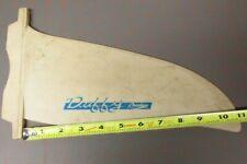 "Windsurfer Fin 11"" tall Duffy Rainbow white wind surf skeg Wk"