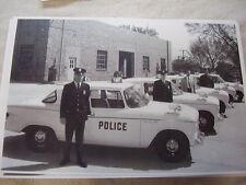 1960 STUDEBAKER  LARK POLICE CAR FLEET 11 X 17  PHOTO /  PICTURE