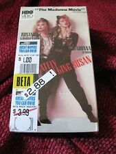 SEALED BETA MAX Tape Madonna Desperately Seeking Susan HBO Film LOST FORMAT