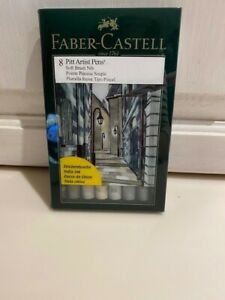 Faber-Castell set of 8 artist pens shades of Gray