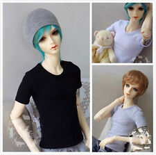 BJD Short Sleeve T-shirt for 1/6 1/4 1/3 SD17 Uncle Doll Clothes CMB26