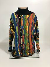 Authentic Womens COOGI Turtle Neck Sweater Size Large
