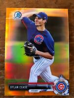 Dylan Cease 2017 Bowman Chrome Mini ORANGE REFRACTOR /25 Prospect RC White Sox