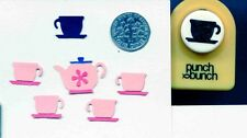 Small TEACUP Shape Paper Punch x Punch Bunch Quilling-Scrapbooking-Cardcrafting