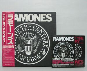 DVD RAMONES - END OF THE CENTURY DX COLLECTORS BOX 2004 JAPAN NOT LP w/ sticker