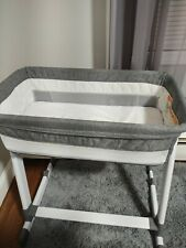 In Excellent Condition (no Signs of use) Baby Bassinet - Grey Tweed