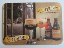 Beer Coaster ~ Brouwerij Van Honsebrouck KASTEEL Bier ~ Ingelmunster, BELGIUM