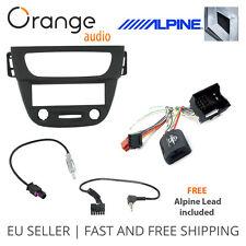 Renault Megane III Fitting kit & Steering Wheel Adaptor CTSRN006.2 Alpine lead