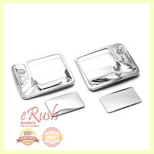 FOR 1999-2015 FORD F250 F350 F450 F550 2DR CHROME DOOR HANDLE COVER COVERS 2014