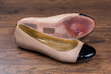 Women's Kate Spade Tan / Black Ballet Tabitha Flats Sz 9 (Approx)