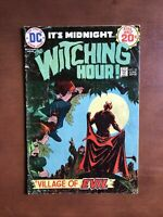 Witching Hour #43 (1974) 4.5 VG DC Key Issue Bronze Age Comic Book Village Evil