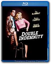 Double Indemnity Blu Ray New Fred MacMurry Barbara Stanwyck Edward G Robinson