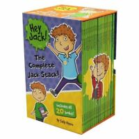NEW Hey Jack: The Complete Jack Stack 20 Books Collection Set Gift Boxed Kids!