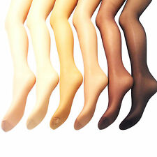 NEW WOMENS LADIES SILKY SHINE GLOSSY SHIMMER MATTE TIGHTS SHEER PLUS SIZE M / XL