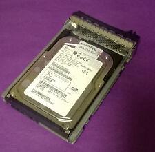"""Dell h8799 73 Gb 15000rpm 3.5 """"Sas Lff Disco Duro-Fujitsu max3073rc Con Caddy"""
