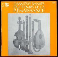 Chants et danses de la Renaissance Ensemble musical C.E.Sfena LP EX, CV NM