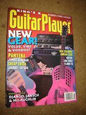 Guitar Player: Mai, 1994,new Gear, Pantera, Jimmie Vaughan, Robben Ford