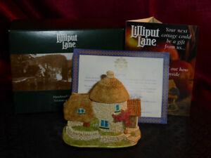 LILLIPUT LANE Little Scrumpy L2395 Membership 2001/2 Thatched Cottage Box+deeds
