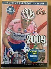 2009 Giro D'Italia 5 Dvd Set Collector's Edition w/2009 Milan San Remo 8 Hours