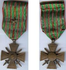 Médaille - Croix de guerre 1914/1915 avec 1 citation d'époque