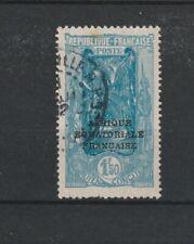 Fr. Congo - 1930 SG60 utilisé 1 F 50 C SURCHARGE TIMBRE