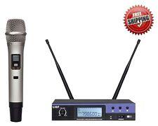 Uhf True Diversity Wireless Microphone Long Range Wireless mic System Handheld