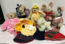 Vintage 6 Plush Muffy Vanderbear Hoppy VanderHare Lulu Outfits Easter Retired L
