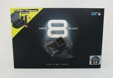 Brand New GoPro HERO8 Black Action Camera Bundle 2 Batteries, Handler, SD Card