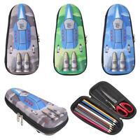 Creative EVA Pencil Case Tank Student Stationery Boy Zipper Pen School Pouch Bag