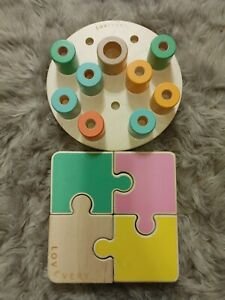 Love very Chunky Puzzle And Peg Stacking Board