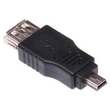 USB femmina a USB Mini maschio 5-poli Adattatore Tipo A