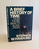 A Brief History Of Time-Stephen W. Hawking-First/1st Book Club Edition-VERY RARE