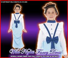 FANCY DRESS COSTUME # POSH VICTORIAN GIRL MED AGE 7-9