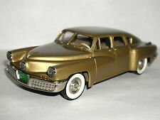 BROOKLIN MODELS 1948 TUCKER TORPEDO GOLD 1/43 BRK2A