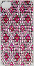 Iphone 5 5S Pink Bling Crystal Rhinestone/Pearl Decal Sticker Vinyl Back Skin