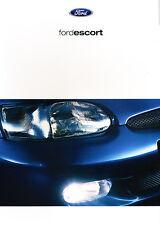 2000 Ford Escort Dutch Sales Brochure Prospekt