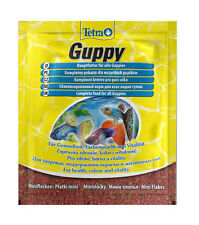 Tetra Guppy Food For All Guppies with colour enhancers  12g sachet