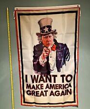 New listing Donald Trump Flag *Free Ship Usa Seller!* I Want You President 2020 Maga 3x5'