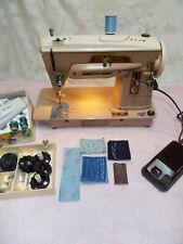 Singer 403A Sewing Machine-Slant-O-Matic-Heavy Duty Gear Driven/5 CamsAttachment