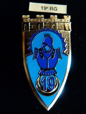 INSIGNE MILITAIRE Pucelle Armée Arthus Bertrand 19° RG génie