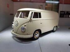 1963 Volkswagen T1 Panel Van Azul 1 24 Welly 22095