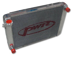 """PWR HOLDEN Commodore VL V8 Radiator 55mm core suit 16"""" Spal fan PWR1130SP"""