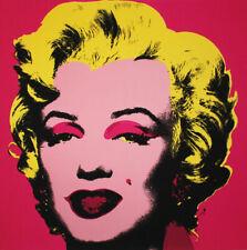 Andy Warhol - Marilyn Monroe hot pink - Kunstdruck auf hochwertigem Papier