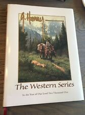 """G. Harvey Autographed Signed Book """"The Western Series Limited Edition Rare"""